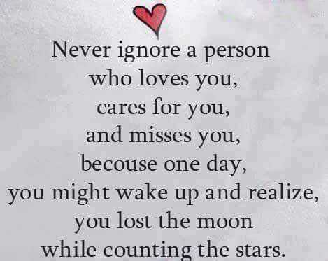 Sad Love Quotes - Already lost, When wakeup and Realize, you lost. So Never Ignore