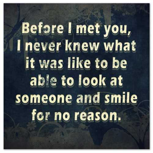 cute love quotes smile-for-no-reason