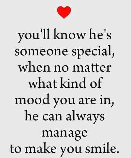 Best love Quotes of the Day How He Can Always Manage To Make You Smile