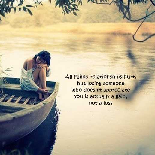Relationships Quotes Why Failed Relationships Not A Loss, Happy One