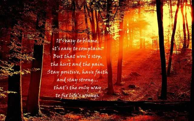 Good Quotes And Sayings Stay Positive Have Faith And Stay Strong