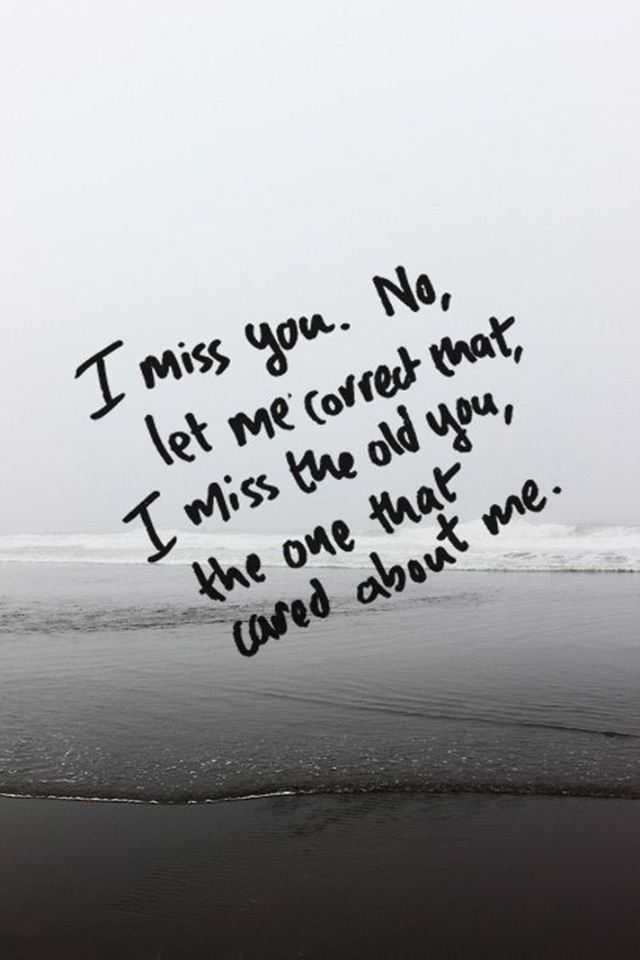 Heart Touching Sad Love Quotes I Miss You Let Me Correct