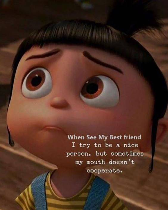 Female Friendship Quotes Funny Friend