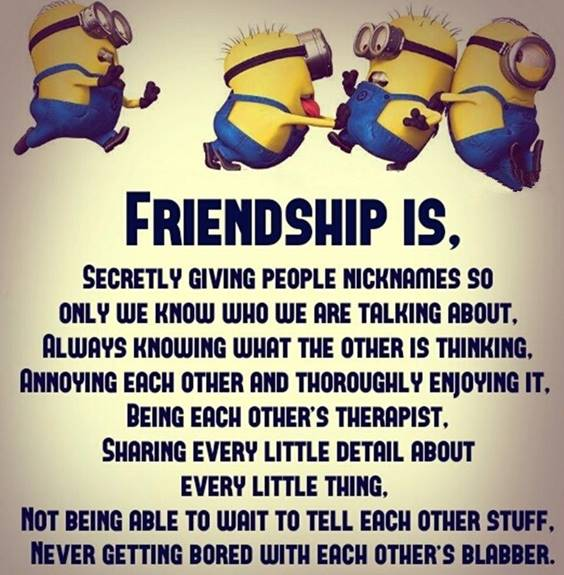 I Love You Friend Funny Friends Quotes