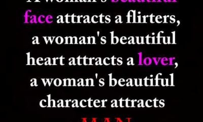Beautiful Heart attracts a Man, Not Lover or Flirters. - Beautiful Quotes 1