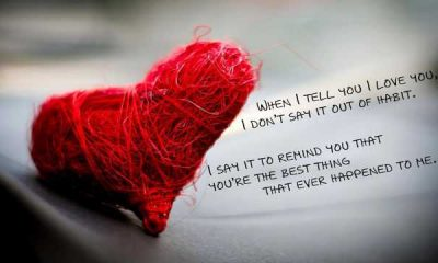 """Beautiful Quotes Love sayings """"I Love You"""", the Heart Stopped Ever."""