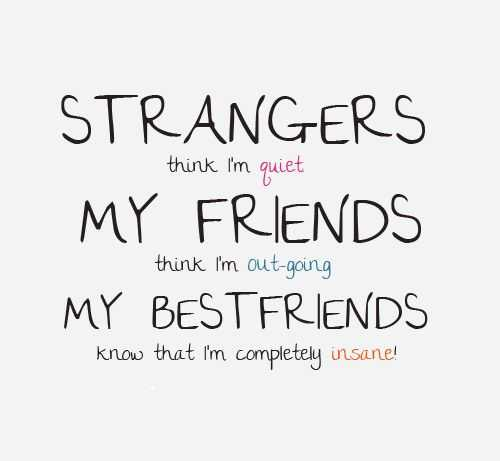 My Best Friends Know