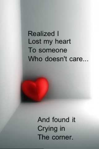 Sad Quotes About Love Interesting I Lost My Heart To Someone  Sad Love Quotes  Boomsumo Quotes