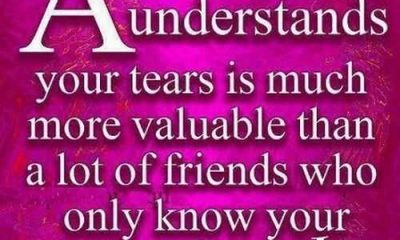 A friend who understands your tears - Best Friendship Quotes