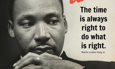 Martin luther king jr quotes the Time What is Always Right Inspirational quotes on life