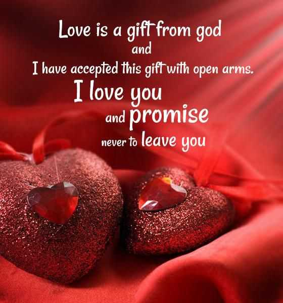 cute quotes to live by I love You and Promise, Never To love quotes