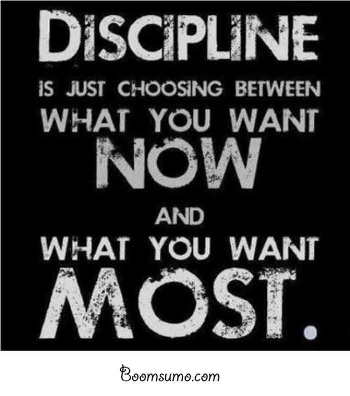 quotes about success and hard work Discipline inspirational life