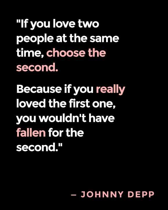 Inspirational love quotes Choose Second If You Love life quotes