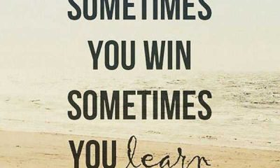 Positive quotes about motivational thoughts If fails, Sometimes You Learn positive words motivational sayings