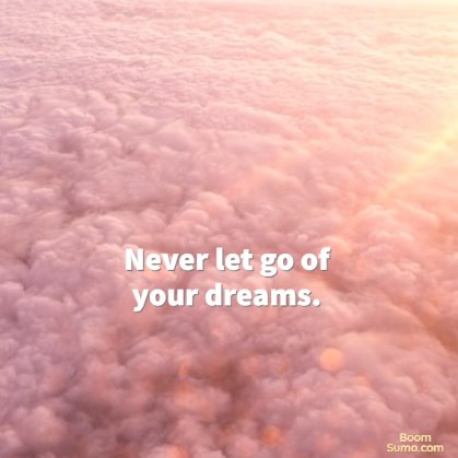 dreams big quotes
