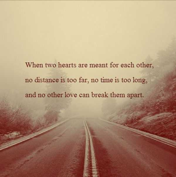 Long Distance Relationship Quotes: When Two Heart Break