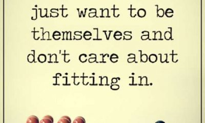 Best Motivational Quotes About Life Positive Thoughts Don't care About Fitting In