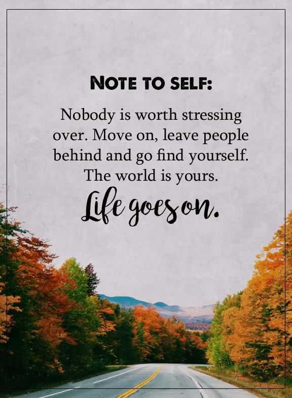 Inspirational Quotes Nobody Is Worth Stressing Positive quotes about life