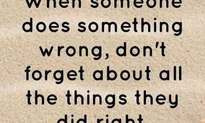 Positive life Quotes Don't Forgot About All, When Someone Did Wrong