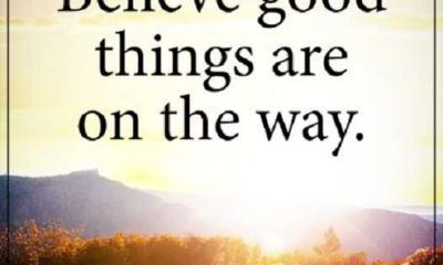 hopefulness quotes Believe always live with a positive thoughts
