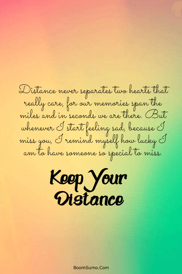 Encouraging words for long distance relationships