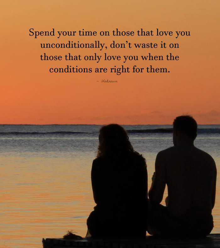 Inspirational love Quotes Don't Waste time Love