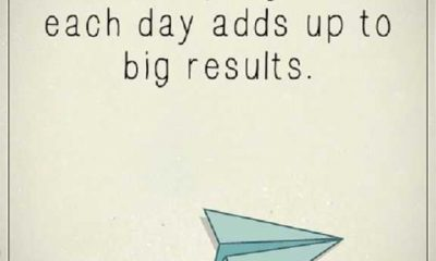 Inspirational quotes of the day A little Progress End Up To big results
