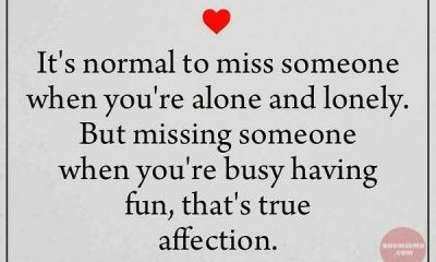 Love Quotes of the Day When True Affection Failed