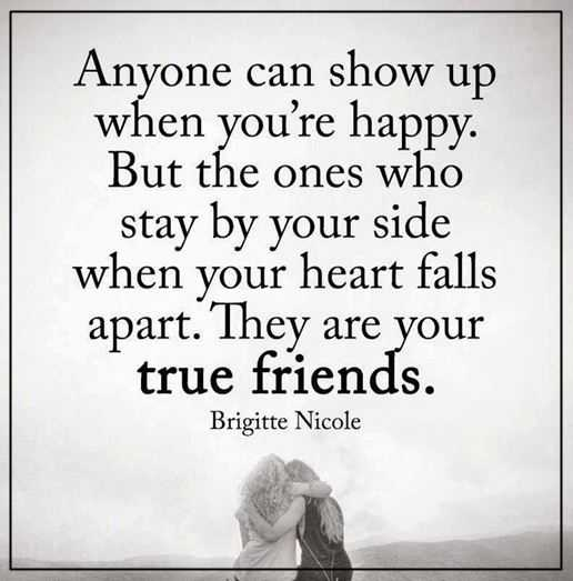 Best Friendships Quotes Anyone Can Show Up When You're Happy