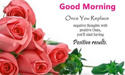 Good Morning Quotes How To Avoid Negative Thoughts Just Positive