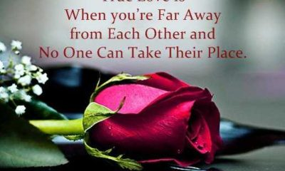 Inspirational Love Quotes Good morning True Love Is When you're Far Away
