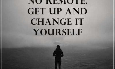 Inspirational Quotes About life Get Up and Change it Yourself
