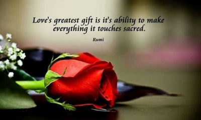 Love Quotes About love Life Sayings Love's Greatest Gift