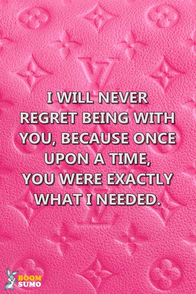 Best Love Quotes Once Upon a Time, You Were Exactly