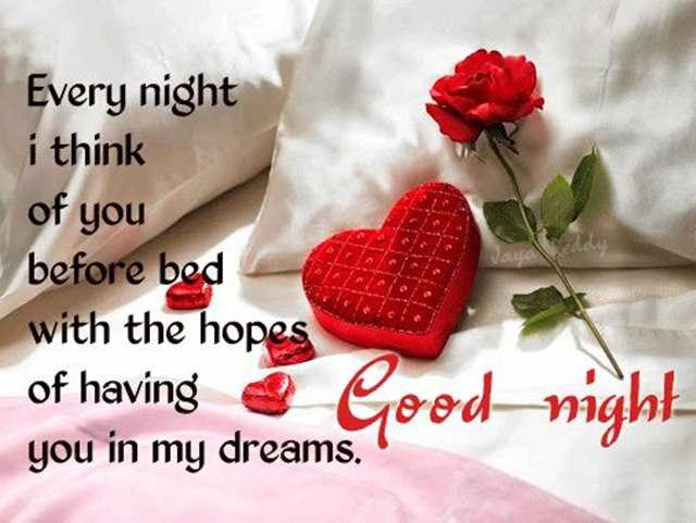 Good Night Quotes Every Night I Think Of You