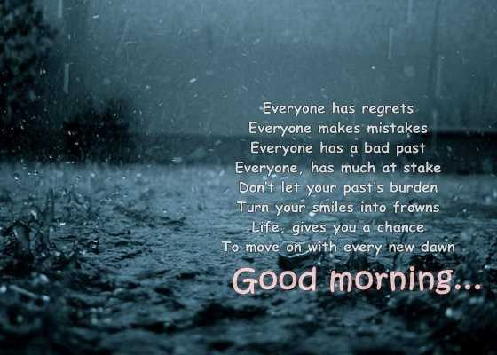 Inspirational Good Morning Poems Don't let Yours