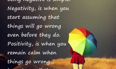 Inspirational Quotes About Being Positive And Being Negative 1