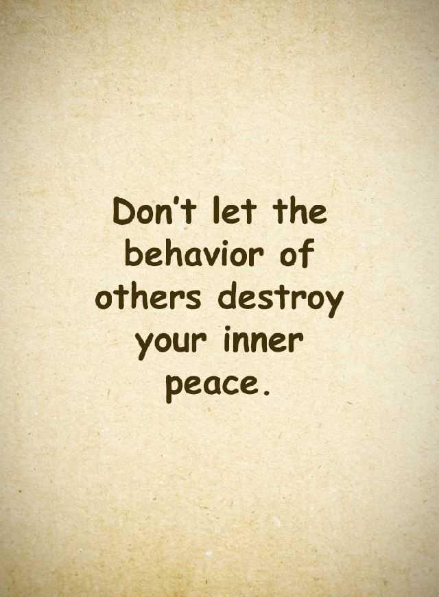 Inspirational Quotes You Behavior
