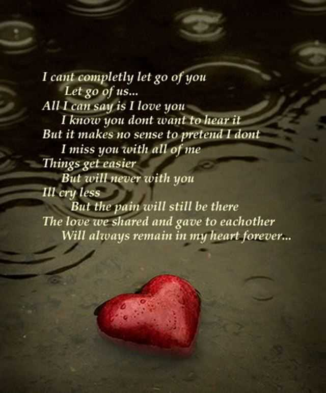 Sad Love Quotes I'll Cry Less My Heart Forever