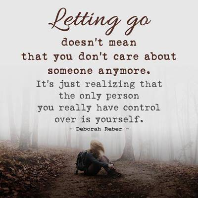 you are in control of your life quotes on letting go