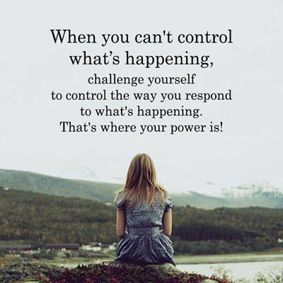 sayings about control be in charge of your life quotes