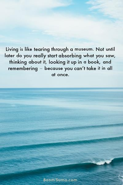 small thinking quotes to think about living