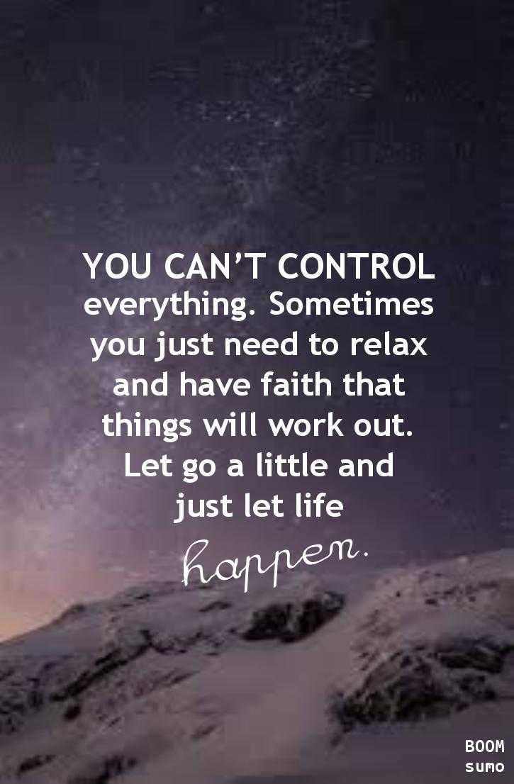 Motivational Quotes About Life: Inspirational Life Quotes And Sayings You Can't Control