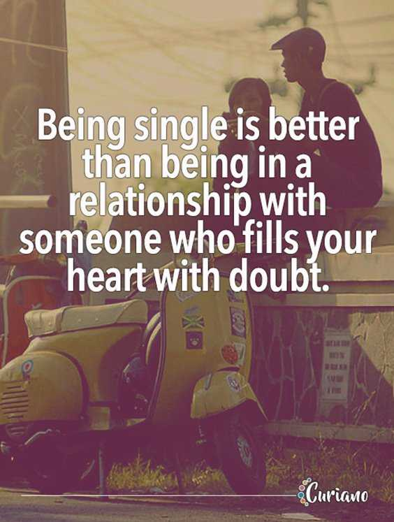 Single and moving on quotes
