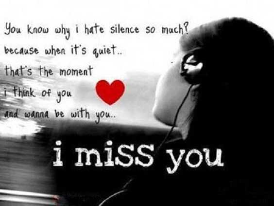 I Miss You And Missing Someone Quotes 20