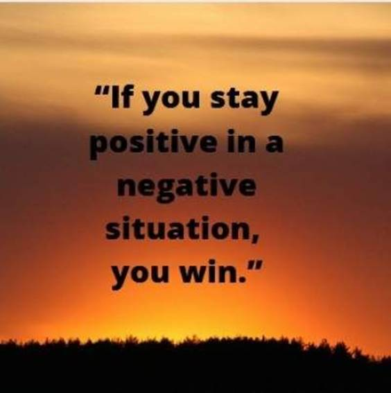 Stay Positive In Life Quotes