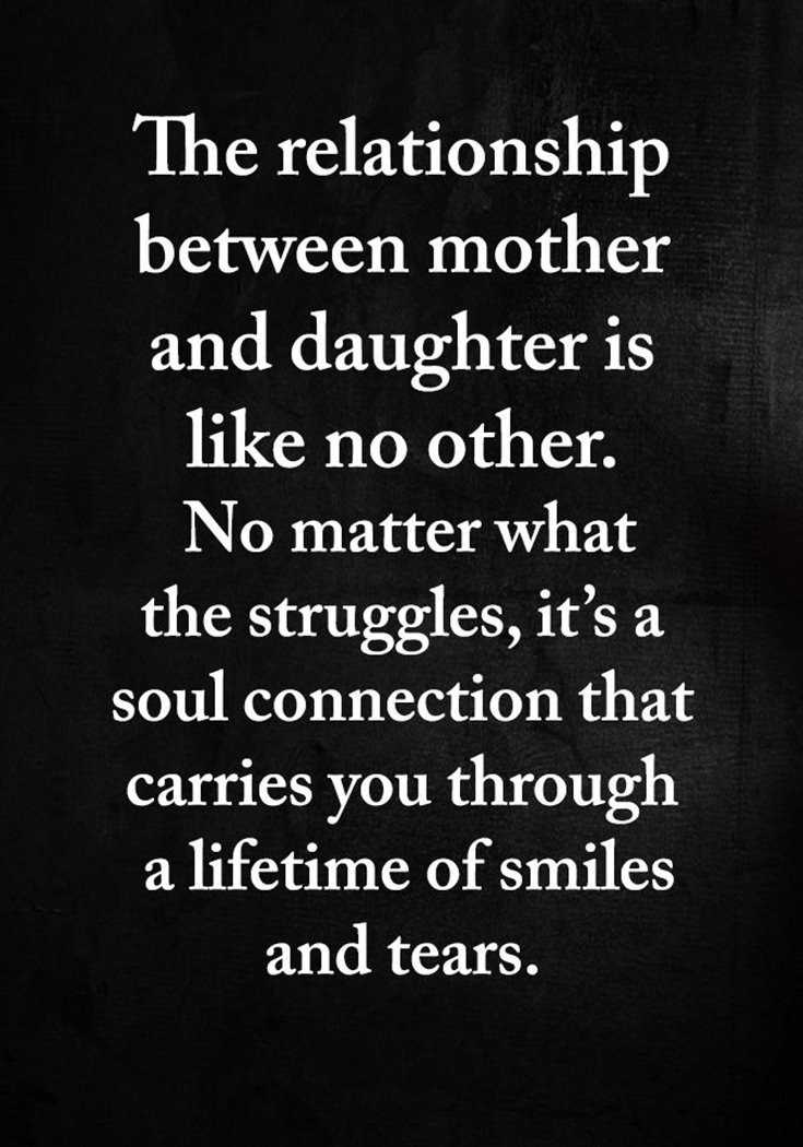 57 Mother Daughter Quotes and Love Sayings 23