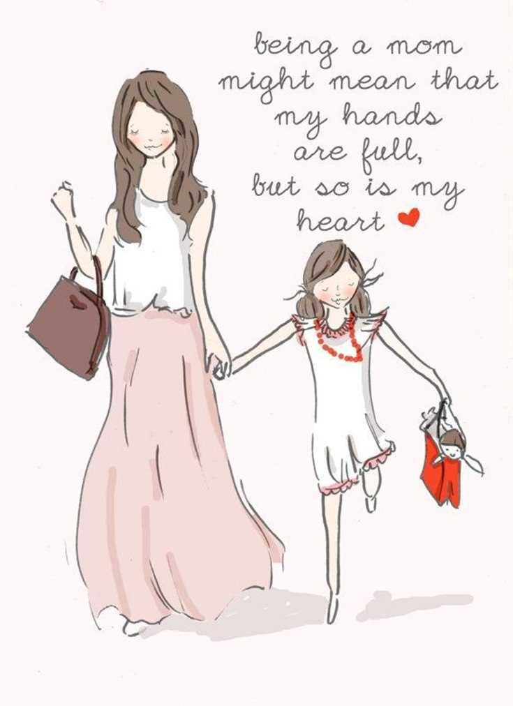57 Mother Daughter Quotes and Love Sayings 55