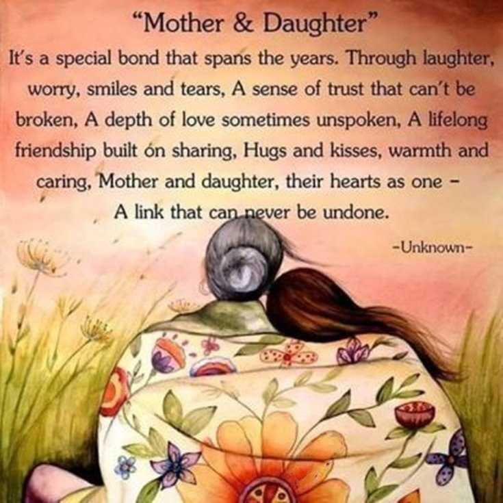 57 Mother Daughter Quotes and Love Sayings 6