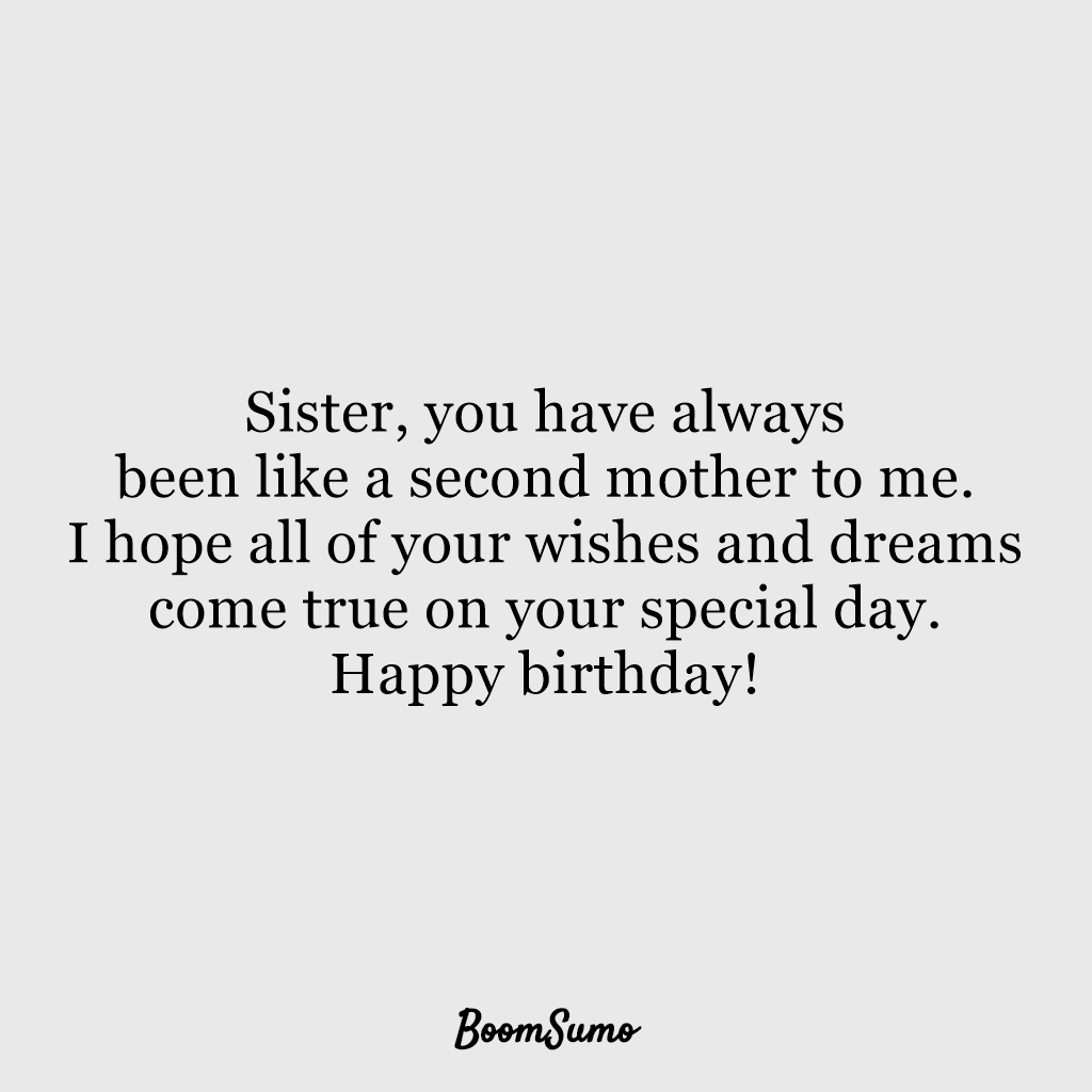 110 Best Happy Birthday Sister Quotes Wishes 104